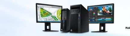HP onthult nieuwe Z-Workstations en Performance Displays
