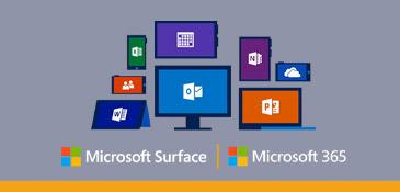 Mogelijkheden van Microsoft 365 op verschillende devices.