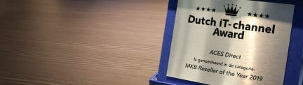 Een nominatie als MKB reseller of the year door Dutch IT- channel