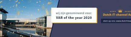 ACES Direct genomineerd als VAR of the year 2020