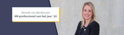 Moniek van Beckhoven HR-professional van het jaar