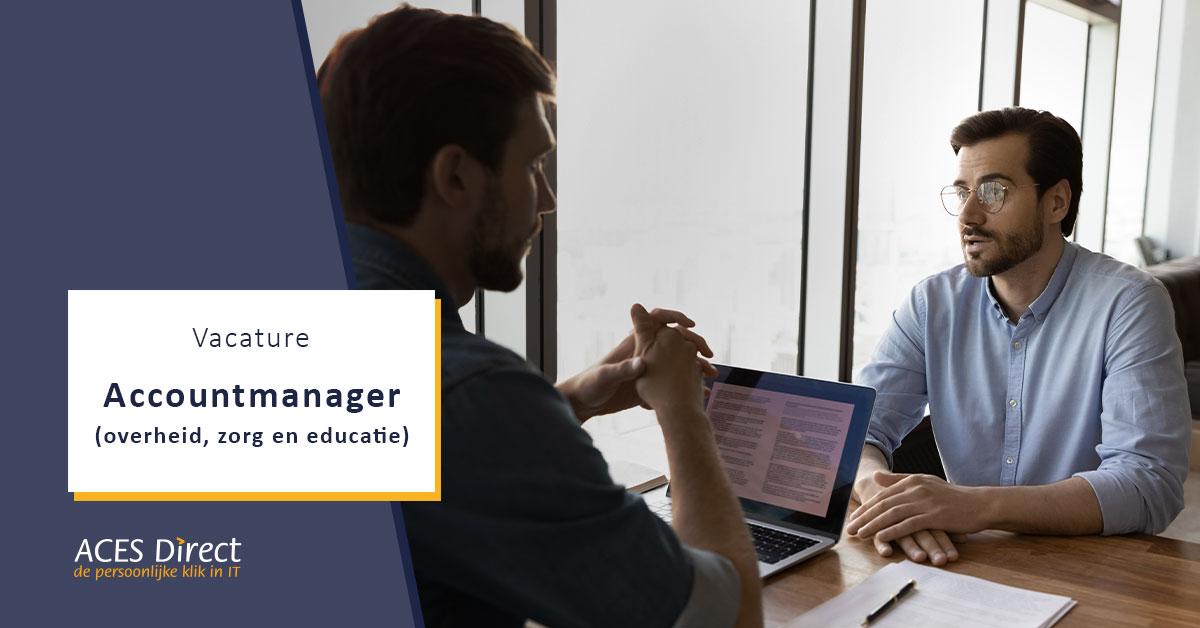 Accountmanager (overheid, zorg en educatie)